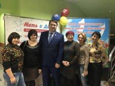 Рамзил Ишсарин ознакомился с деятельностью благотворительного фонда «Мать и дитя»